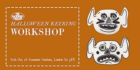 Halloween Leather Keyring Workshop tickets