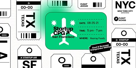 Startup CPG San Francisco Meetup - August tickets