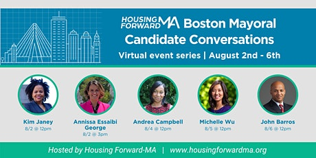 Housing Forward-MA Boston Mayoral Candidate Conversations tickets