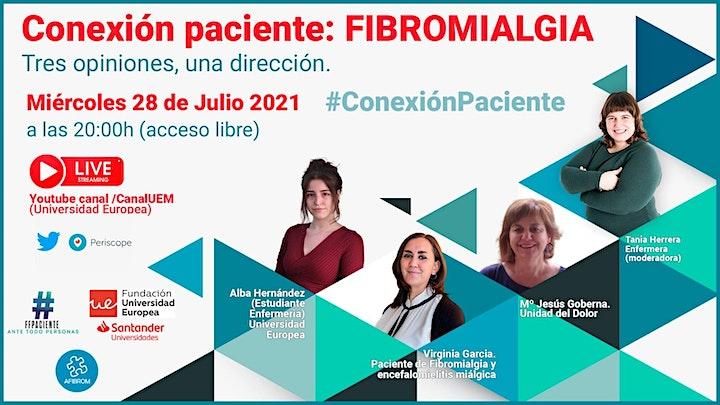 Imagen de Conexión Paciente: Fibromialgia.