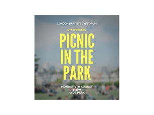 LB CYF Workers' Picnic in the Park tickets