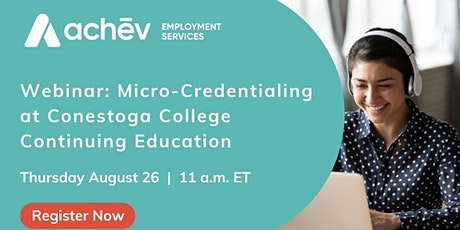 Special Information Session - Conestoga College ( Micro-credentialing) tickets