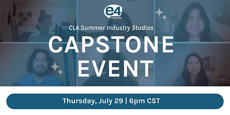 Summer Industry Studio Capstone Event tickets