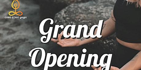 Casa D Hot Yoga Grand Opening tickets