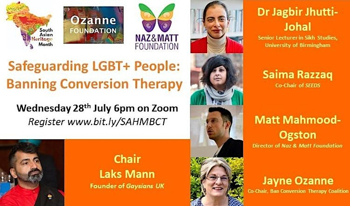 Safeguarding the South Asian LGBT+ Community - Banning Conversion Therapy image