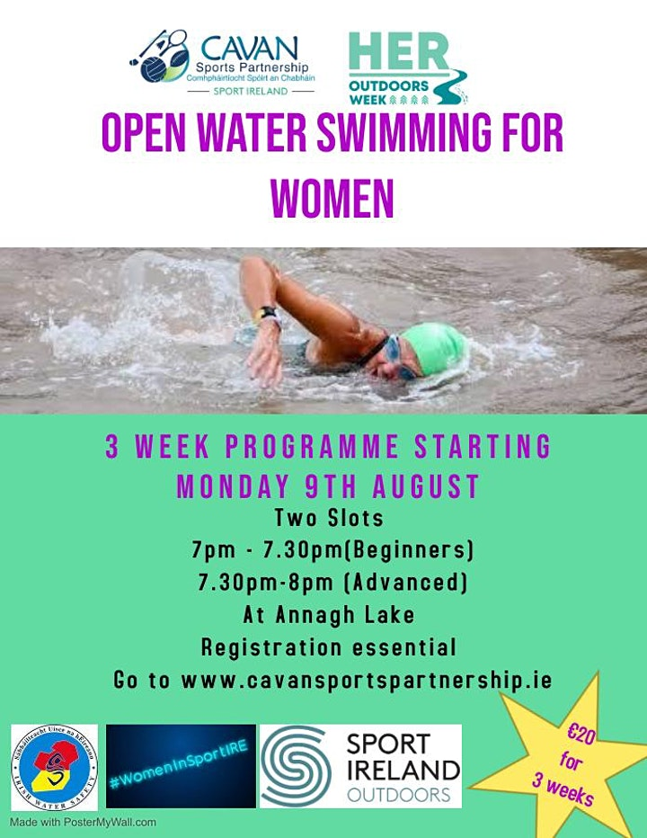 Open Water Swimming Beginners Annagh Lough image