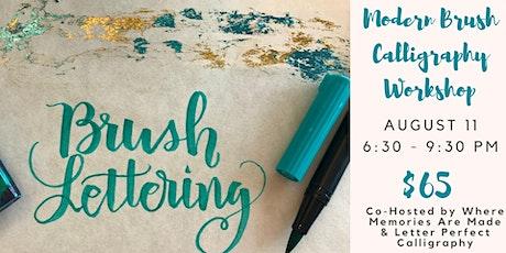 Modern Brush Calligraphy tickets