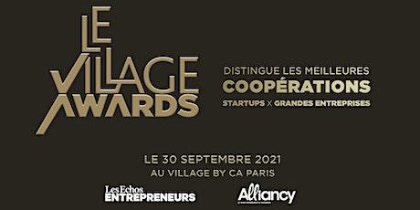 Cérémonie des Village Awards 2021 billets