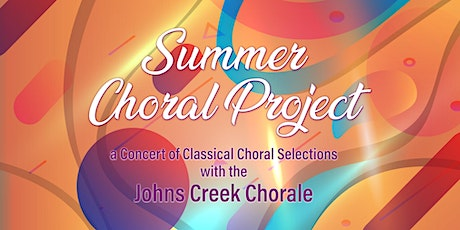 Summer Choral Project 2021 CONCERT tickets