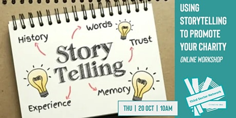 Using Storytelling to Promote Your Charity - Workshop tickets
