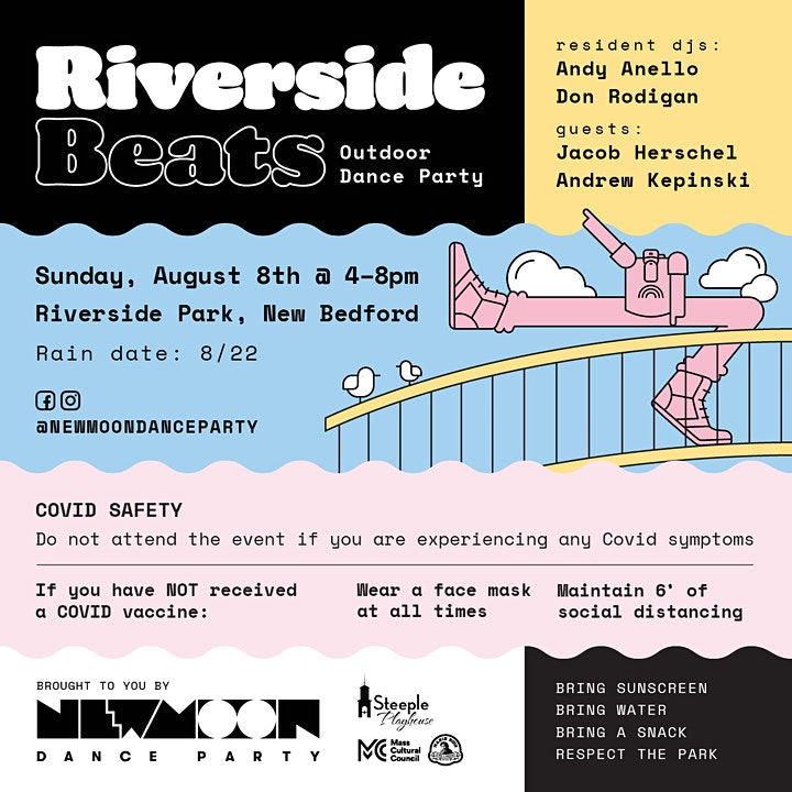 Riverside Beats - Outdoor Dance Party image