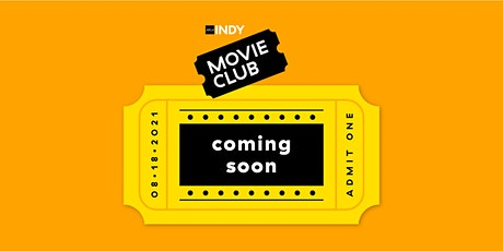 Movie Club | Design and Thinking Tickets