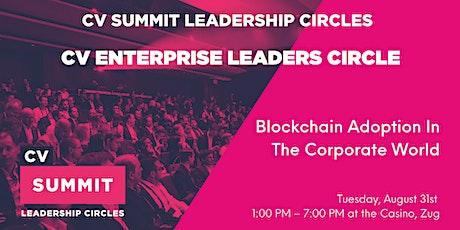 CV Enterprise Leaders Circle billets