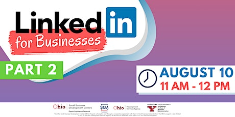 LinkedIn for Businesses Part 2 tickets