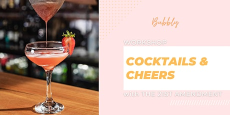 Cocktails and Cheers workshop tickets