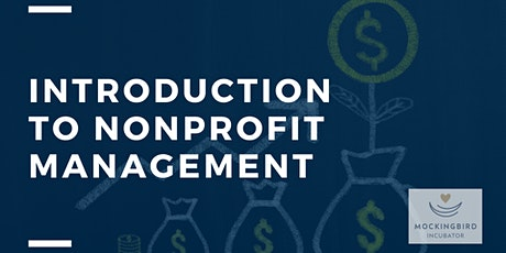 Introduction to Nonprofit Management tickets