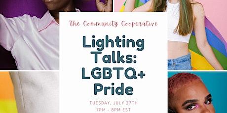 Lightning Talks: LGBTQ+ Pride tickets