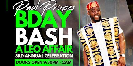 AfroVibe Fridays, Vol. 21: Paul Prince's 3rd Annual Leo Birthday Bash tickets