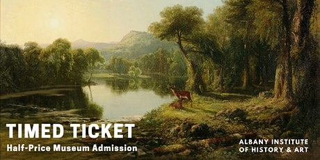 Timed Ticket: Half-Price Museum Admission tickets