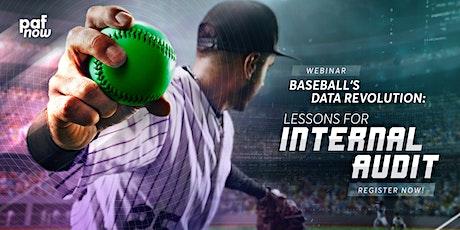 Baseball's Data Revolution - Lessons for Internal Audit tickets