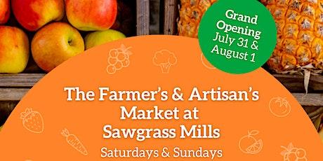 Farmers' & Artisans' Market at Sawgrass Mills tickets