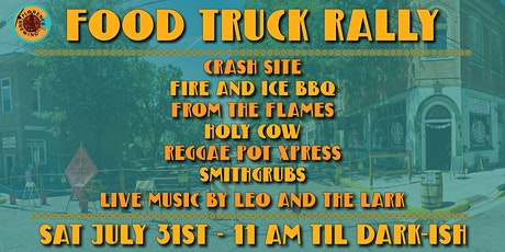 July 31st Food Truck Rally & Live Music at Florence Brewing Company tickets