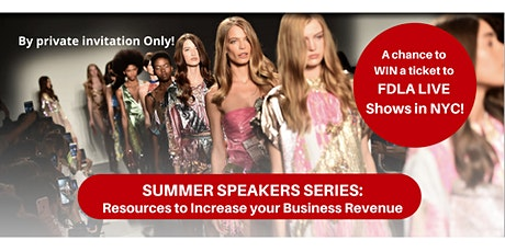 Summer Speakers Series and  Networking Blast! tickets