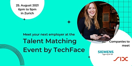 Talent Matching Event by TechFace Tickets