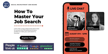 How To Master Your Job Search: 4 Easy Steps tickets
