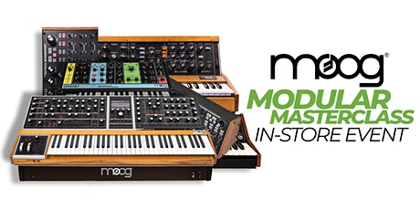 Moog Modular Masterclass tickets