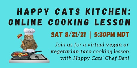 Happy Cat Kitchen - Virtual Cooking Lesson tickets