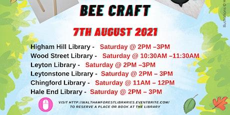 Bee Craft- WF Summer Reading Challenge Event tickets
