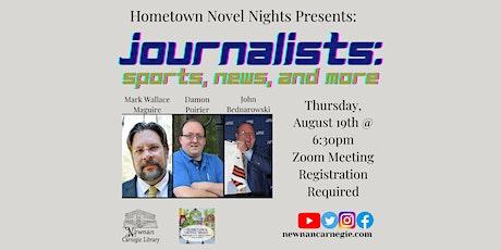 Hometown Novel Nights Virtual: Stories of Summer tickets