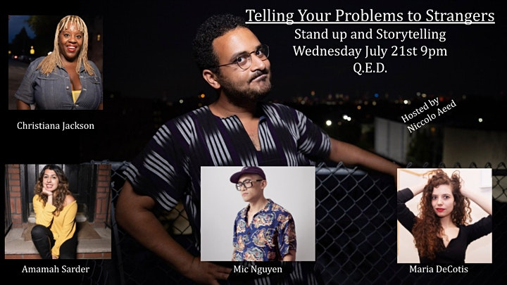 Telling Your Problems to Strangers - A Comedy & Storytelling Show image