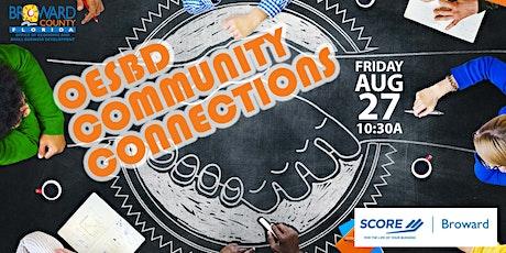 OESBD Community Connections | SCORE Broward tickets