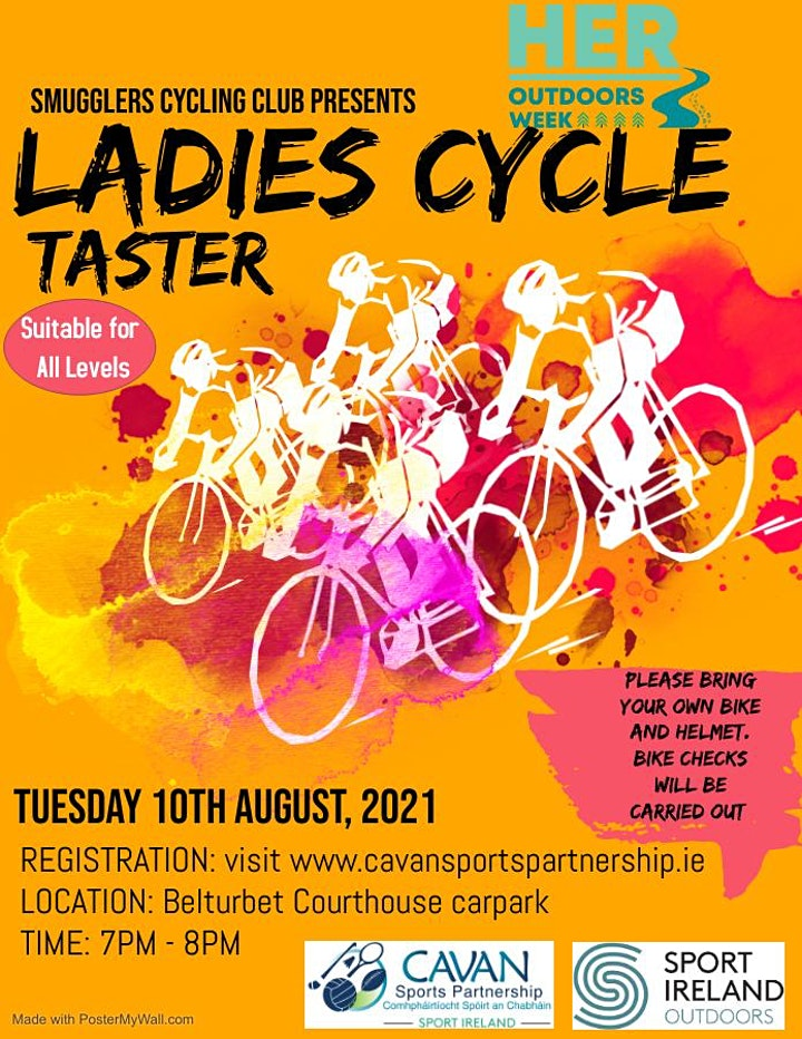 HER Outdoor Week Event - Cycle Taster with Smugglers Cycling Club image