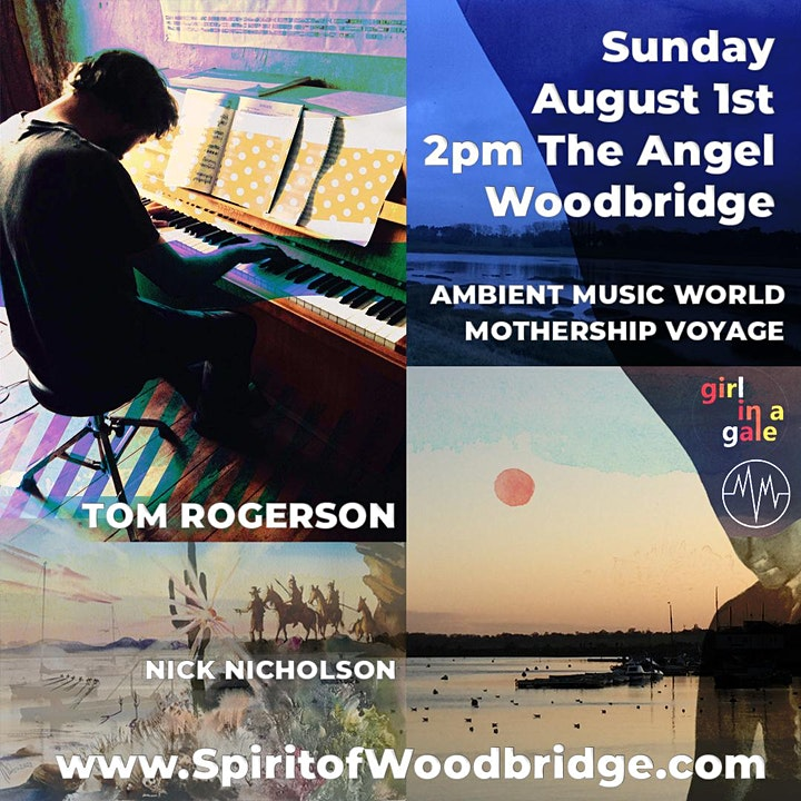Spirit of Place 2021 - Sunday August 1st - celebrating ambient music image