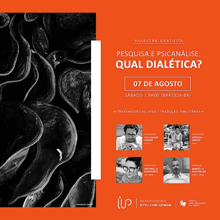 Imagem do evento Recherche et psychanalyse : quelle dialectique?