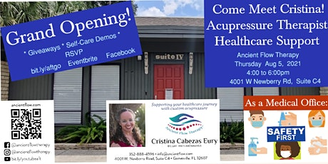 Grand Opening of Ancient Flow Therapy tickets