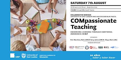Webinar: COMpassionate Teaching entradas