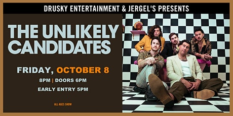 The Unlikely Candidates tickets