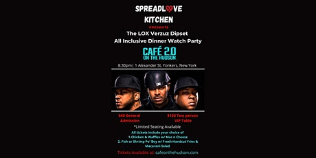 The LOX Verzuz Dipset All Inclusive Dinner Watch Party tickets