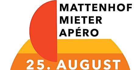 Mattenhof Mieter Apéro tickets