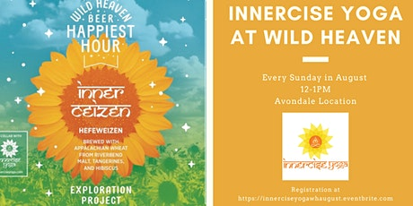Innercise Yoga at Wild Heaven - August tickets
