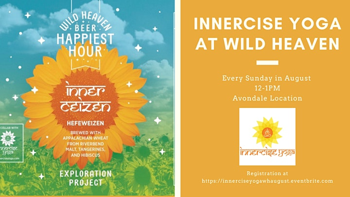 Innercise Yoga at Wild Heaven - August image