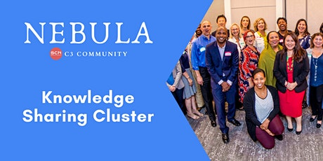 August Knowledge Sharing Cluster tickets
