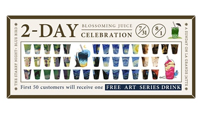 Blossoming Juice New Drink Launch Celebration - 50 Free Drinks Per Day! tickets