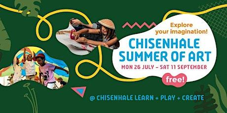 Chisenhale Summer of Art: Let's Dance - Mini Movers Workshop (Ages 2 - 5) tickets