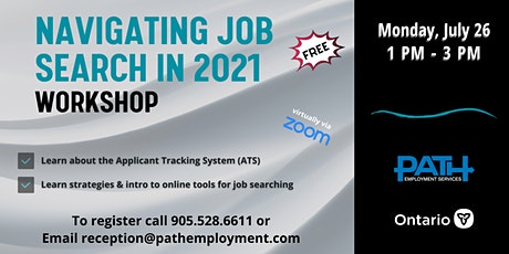 NATIGATING JOB SEARCH IN 2021 tickets