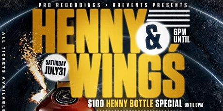 HENNY & WINGS NIGHT AT ARTS tickets